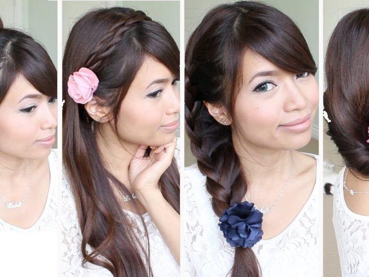14 Cute And Easy Hairstyles For Back To School2 Hair Highlights