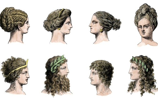 A variety of historical womens hairstyles hair highlights a variety of historical womens hairstyles solutioingenieria Gallery