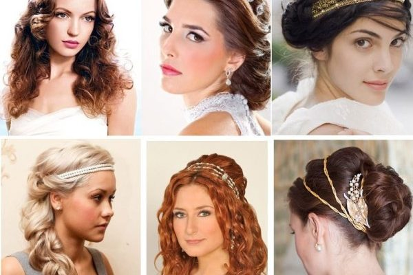 A Variety of Historical Women's Hairstyles