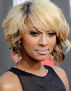 Afro Sleek Bob Hair styles for ladies from Keri Hilson