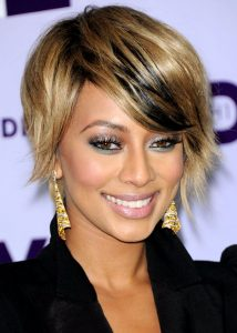 Afro Sleek Bob Hair styles for ladies from Keri Hilson