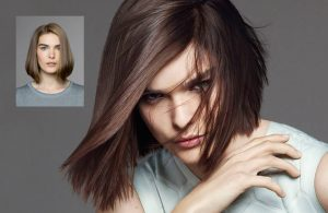 All different facets of Hair color