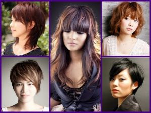 Asian Trending Hairstyle