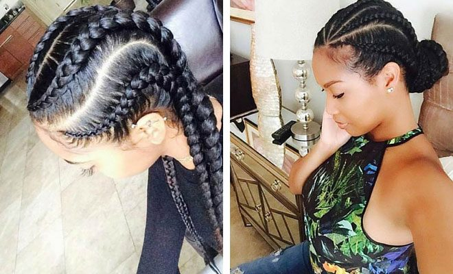 Black Hairstyles Braids 2018