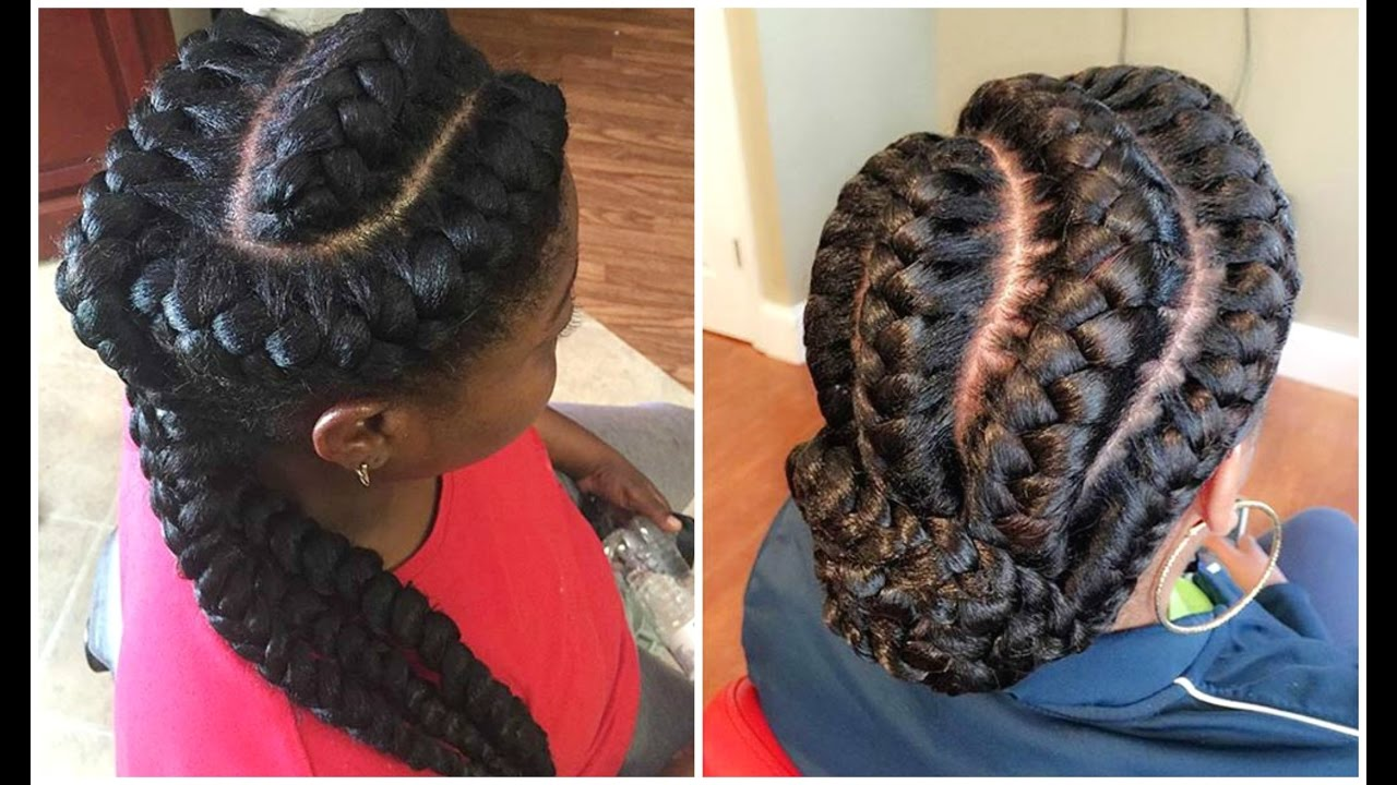 Braids Hairstyles for Black Female