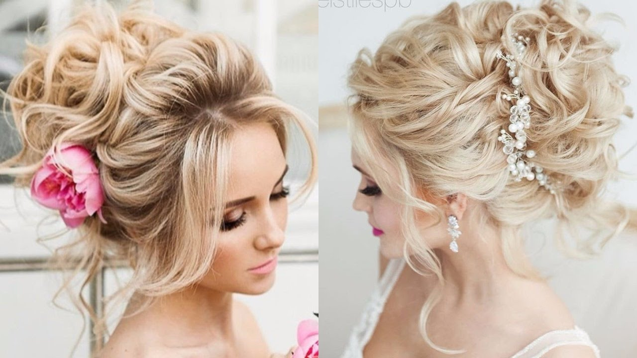 Bridal Blonde Hairstyles