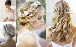 Bridal Blonde Hairstyles