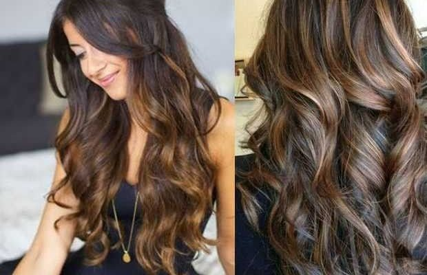 Brown Hairstyles with Hair Highlights | Hair Highlights