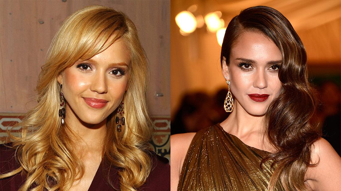 Brunette Celebrity Hairstyles