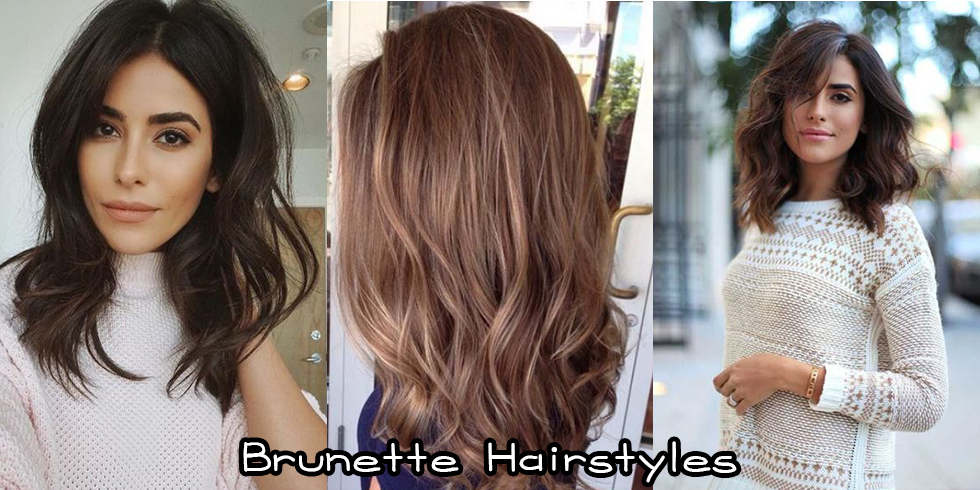 Brunette Hairstyles For Bridesmaids Hair Highlights