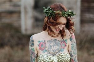 Brunette Hairstyles for Bridesmaids