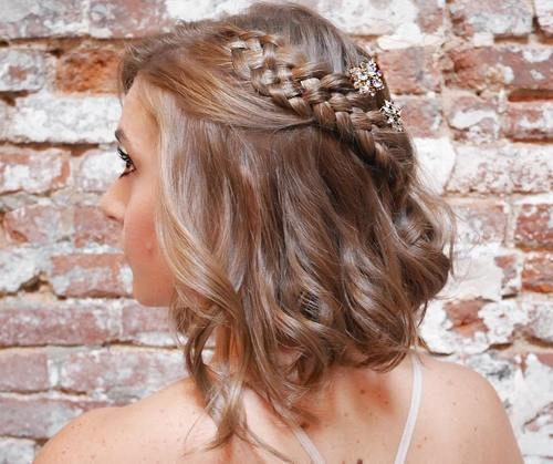 Curly Prom Hairstyles for short haired Brunettes | Hair ...