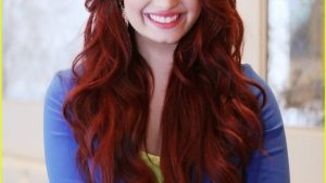 Demi Lovato Long Hairstyles