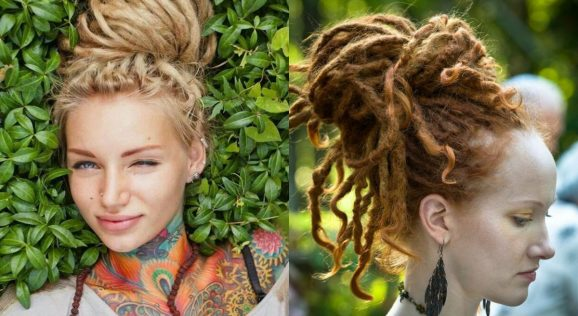 Dreaded Hairstyles for Girls
