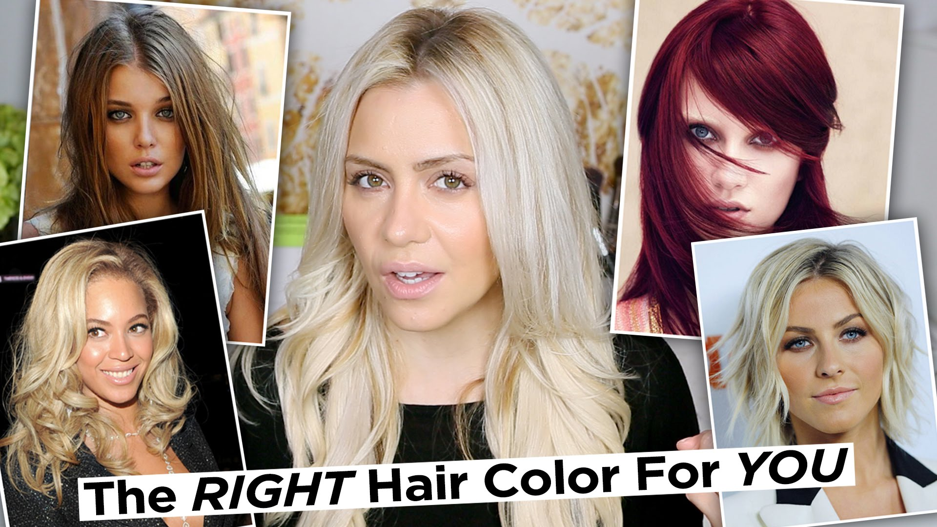 Finding The Right Color for your Hair