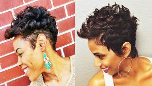 Short Hairstyles Black Hair