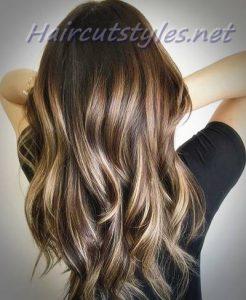 long dark brown