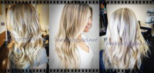 platinum highlights ash blonde highlights