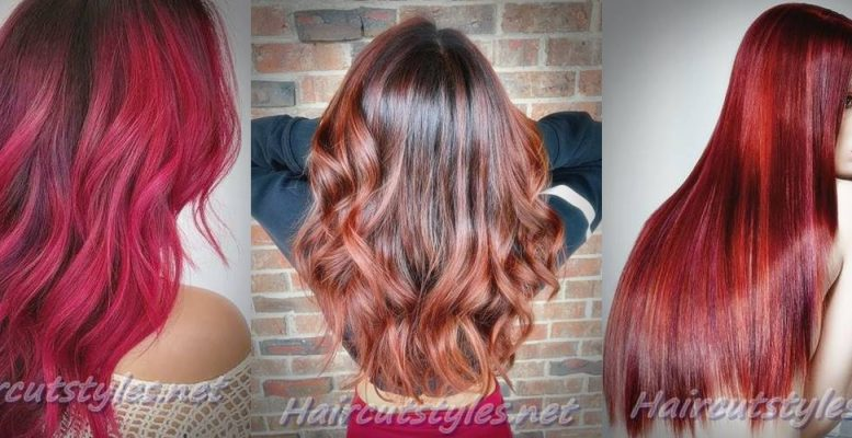 Best Red Hair with Highlights Ideas 2018