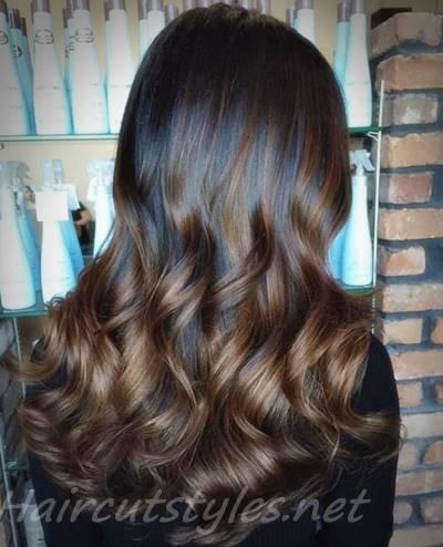 black brown hair
