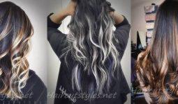 Best Black Hair with Highlights Ideas 2018