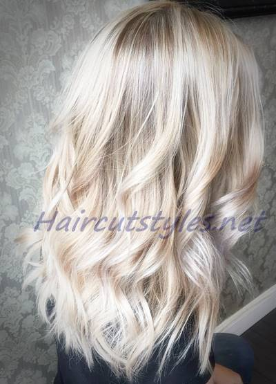 trendy hair highlights