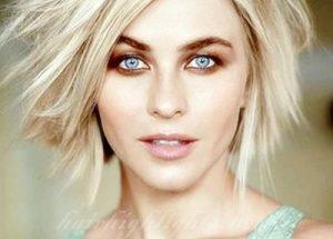 short blonde hair celebs