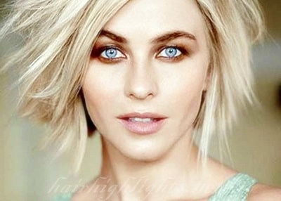 short blonde hair celebs
