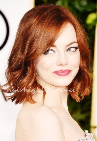 Reddish Auburn Hair Color For Fair Skin Hair Highlights