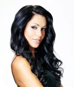 black hair bun hairstyles