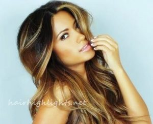 hair color crown highlights