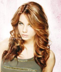 hair color highlights dark hair