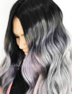 colors for black hair and pale skin