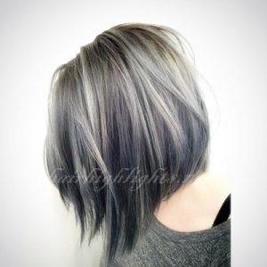 hair colour trends grey