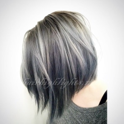 hair colour trends grey