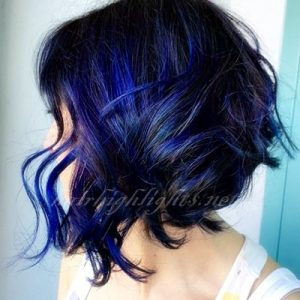 hair color highlights trends 2018