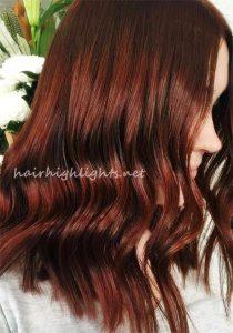 red hair colors ideas auburn cherry