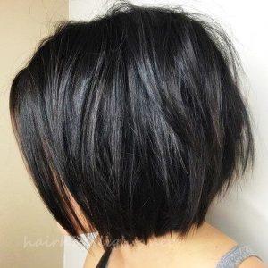 short black hair color