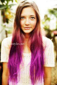 multi color hair dye techniques
