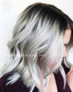 hair color for dark eyes pale skin