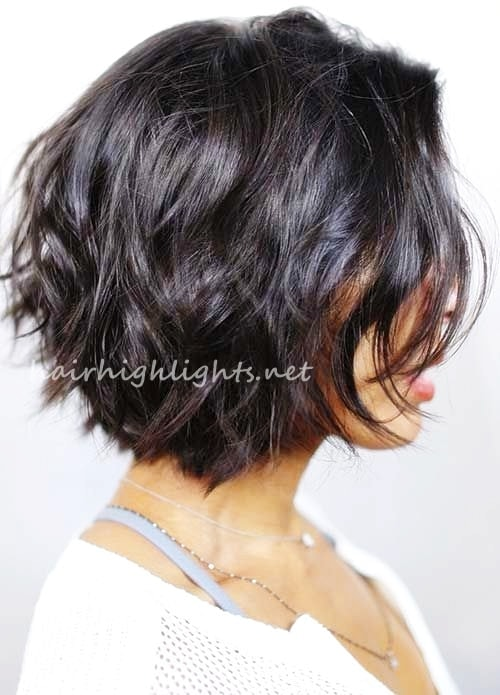 short to medium choppy hairstyles