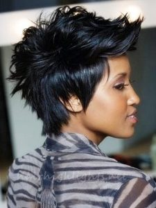 short black hair gallery