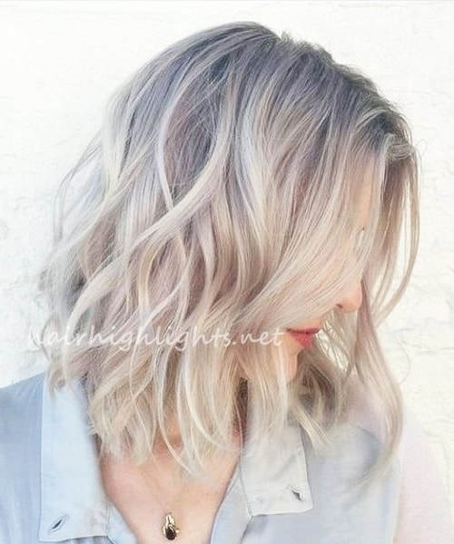 short to medium hairstyles with highlights