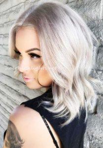 short to medium inverted bob hairstyles