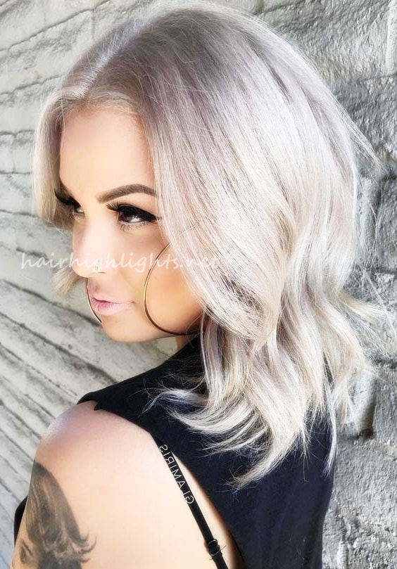 short to medium inverted bob hairstyles