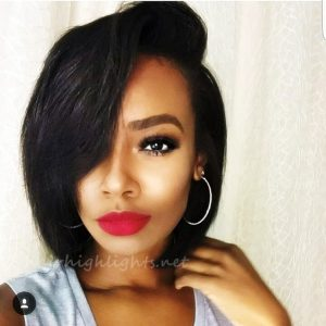 short black hair ideas