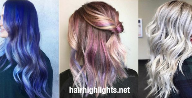 Pretty Hair Dye Colors as Highlights Lend You Glamour